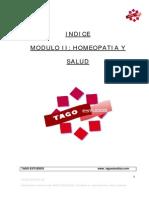 Módulo 2 - Homeopatía y Salud