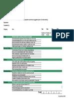 5S Checklist Reader