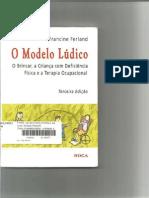 Livro Modelo Lúdico O Brincar,A Criança Com Deficiencia e a Ter