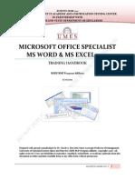 2012 Mos Word Excel Handbook