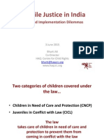 Juvenile Justice in India - Policy and Implementation Dilemmas