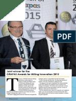 The GRAPAS Award for Innovation