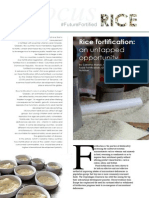 Rice Fortification Focus