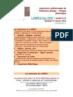 LAMPEA-Doc 2010 – numéro 6 / Vendredi 19 février 2010