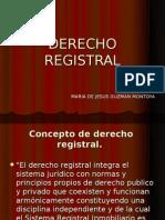 DERECHO REGISTRAL MEXICO PRESENTACION