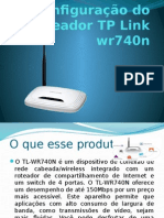 Configuração Do Roteador Tp Link Wr740n - Revisar