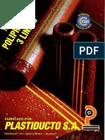 Tubo polipropileno Plastiducto