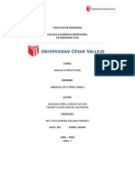 Informe.- Analisis Estructural de Porticos