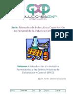 Soluciones GXP MANUAL Introductorio para personal de la industria farmacéutica