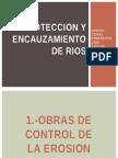 Proteccion y Encauzamiento de Rios