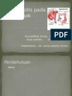 Appendisitis pada Anak ppt.pptx