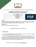 Modificar Conducta