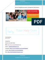 Microeconomics Assignment Help Service