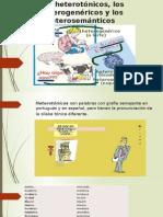 Los Heterotónicos, Los Heterogenéricos y Los Heterosemánticos (Aulão)