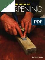 Complete Guide Sharpening Leonard Lee