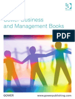 Gower Business and Management Books 2015