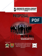 Proposal Job Fair on the Mall Semarang 2015