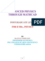 ADVANCED PHYSICS THROUGH MATHCAD.doc