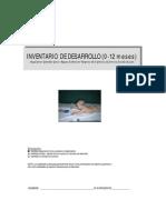 Invent a Rio de Desarrollo _0-12 Meses