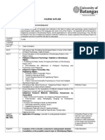 Course Outline_filipino Psychology