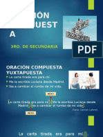 ANÁLISIS DE LA ORACIÓN COMPUESTA 3ro. secundaria.pptx