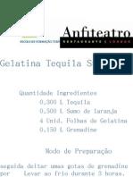 Gelatina Tequila Sunrise
