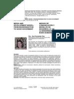 Medios de comunicación y modelos de desarrollo