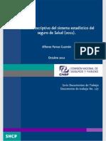 x127.-Análisis Descriptivo Del Sistema Estadistico Del Seguro de Salud (2011)