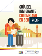 Guía para el inmigrante colombiano en Berlín - 2