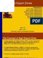 Agri Export Zones