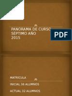Panorama de Curso