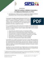 NP Conversatorio Soberania Alimentaria