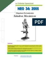 NEO-34 Máquinas Herramientas – Taladros Mecánicos