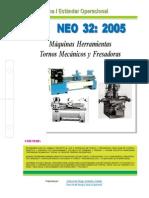 NEO-32 Máquinas Herramientas – Tornos Mecánicos y Fresadoras.