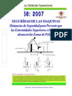NEO-58 Seguridad de Las Máquinas – Distancias de Seguridad Para Prevenir Que Las Extremidades Sup