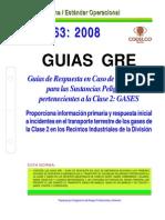 NEO-63 Guías GRE – Guías de Respuesta en Caso de Emergencia Para Las Sustancias Peligrosas Perten