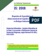 NEO-65 Requisitos de Seguridad en El Almacenamiento de Líquidos Inflamables en Bodegas Industrial