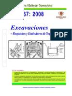 NEO-67 Excavaciones – Requisitos y Estándares de Seguridad.