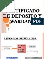 Certificado de Depósito y Warrant