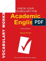 1 Check Your English Vocabulary for Academic English