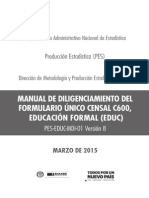 Manual Diligenciamiento C600 2015