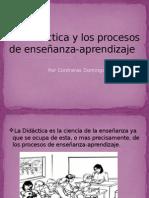 Los Procesos de Enseñanza-Aprendizaje