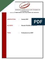 CRITERIOS DE SELECCIÓN DE UN ERP