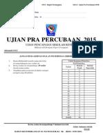 Ujian Percubaan UPSR 2015 - Terengganu - Matematik Kertas 2 - OTI 3