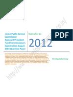 APFC Exam 2002 Question Paper.pdf