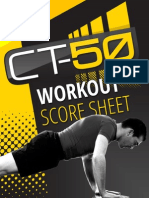 CT 50 Workout Score Sheets