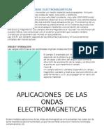Aplicaciones de Las Ondas Electromagnéticas