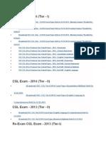 CGL Exam