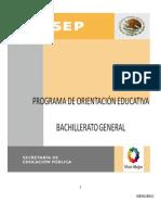 Programa Orientacion Educativa