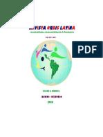 Revista Orbis Latina, Volume 5, nº1, 2015